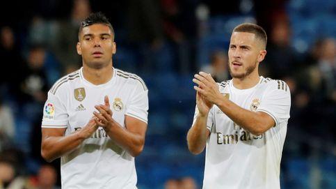 Hazard y Casemiro, positivos por coronavirus en el Real Madrid