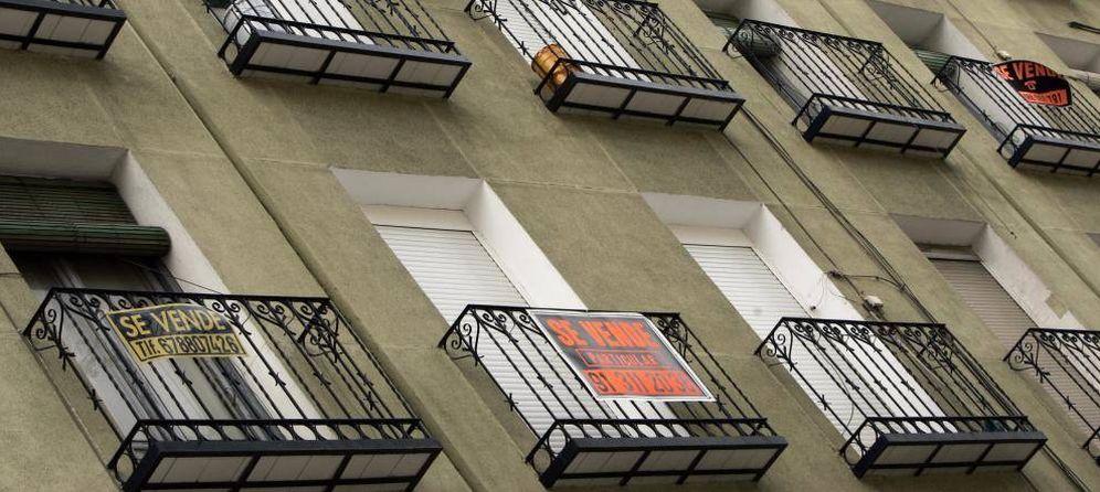 Foto: En apenas un año, Santander, BBVA, Caixabank y Sabadell han vendido toda su exposición inmobiliaria a fondos.