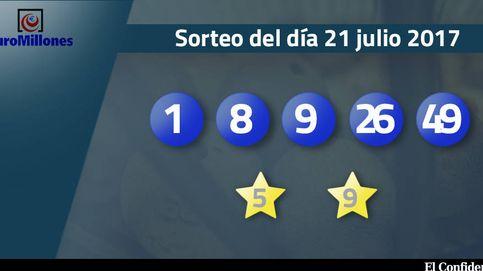 Resultados del sorteo del Euromillones del 21 de julio de 2017