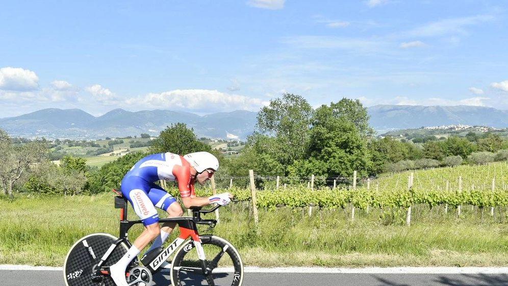 Foto: Dumoulin, el mejor contra el crono del Giro. (Giroditalia)
