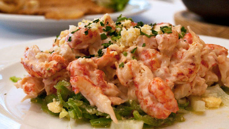 Ensalada de cangrejo de La Ancha.