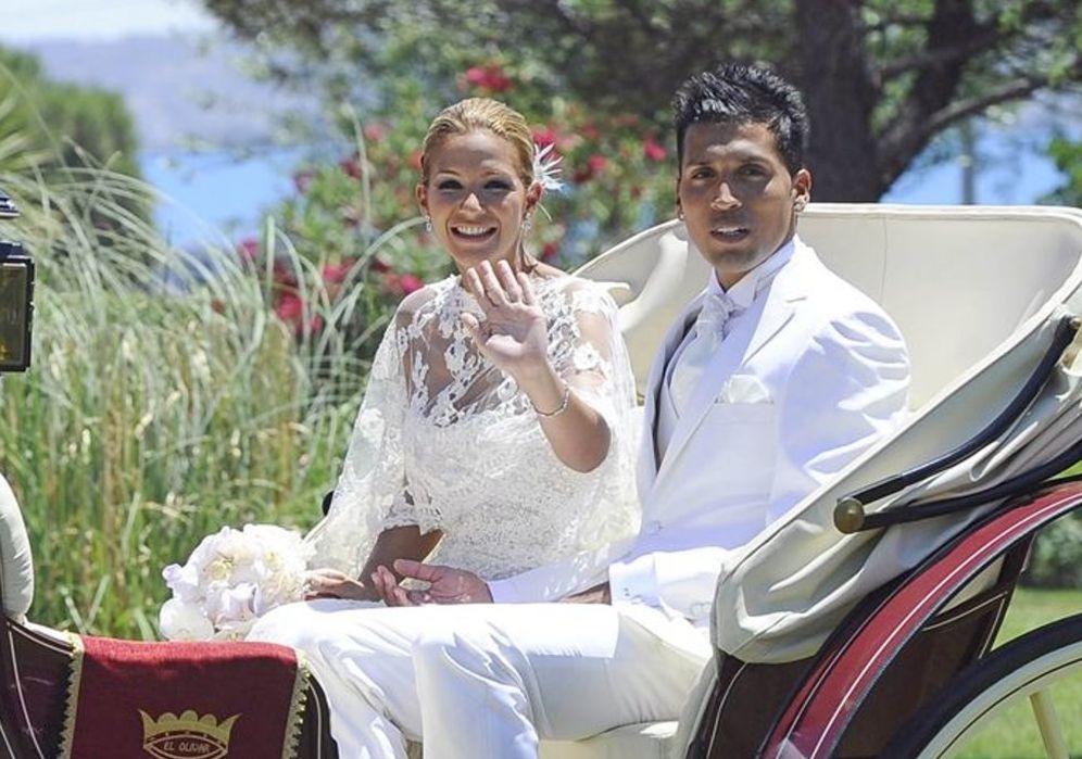 Foto: La boda de Tamara Gorro y Ezequiel Garay, en imágenes