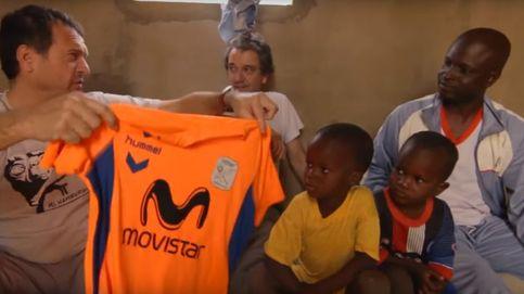 Las camisetas solidarias de Jesús Velasco, entrenador del Inter Movistar