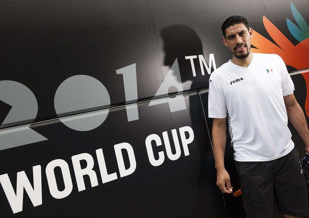 Foto: Gustavo Ayón en el pasado Mundial celebrado en nuestro país, donde la selección mexicana cayó en octavos ante Estados Unidos.