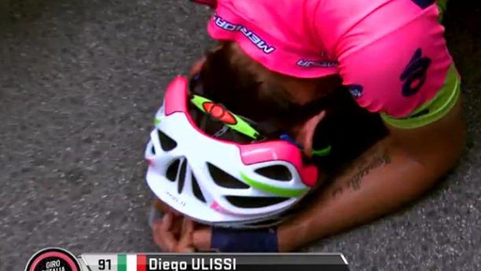 Diego Ulissi vuelve a sonreír en Fiuggi y Contador aguanta tras sufrir mucho