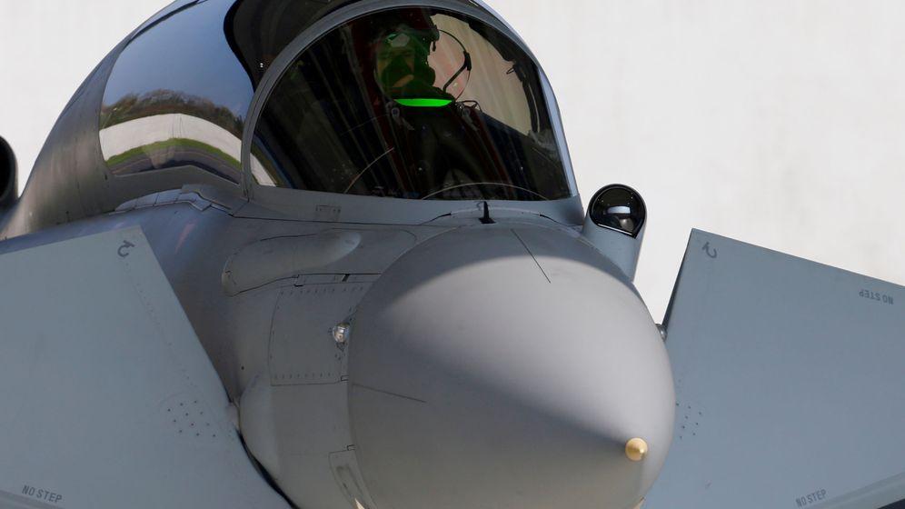 Foto: El actual Eurofighter Typhoon. (Reuters)