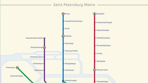 Sennaya Ploshchad, la estación donde se produjo el atentado de San Petersburgo