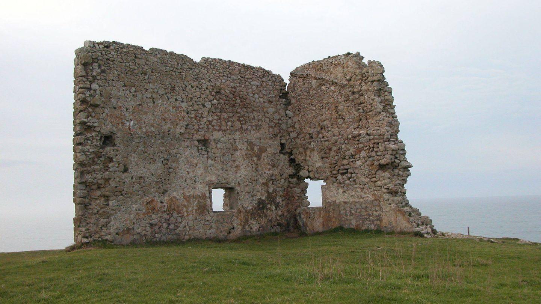 Paredón de la Torre de San Telmo antes del último derrumbe. Foto: Lista Roja de Patrimonio