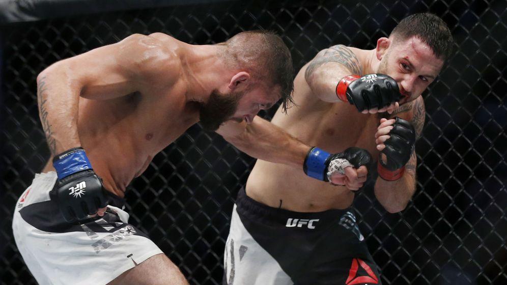 Foto: Frankie Edgar, en una pelea anterior (USA TODAY Sports).)