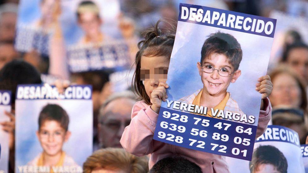 Foto: Manifestación por la desaparición de Yéremi Vargas. (EFE)