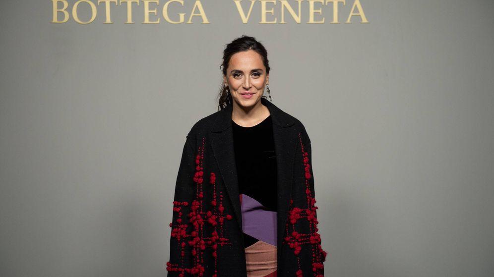 Foto: Tamara Falcó, en la fiesta de Bottega Veneta. (Getty)