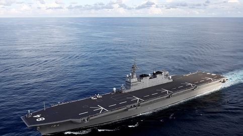 El buque de guerra japonés más grande desde la II Guerra Mundial