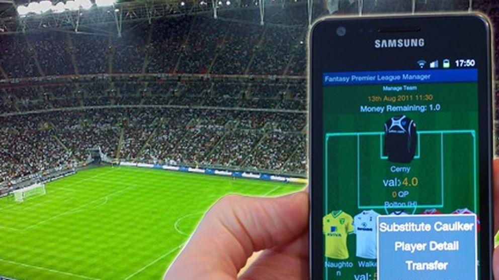 Cinco aplicaciones para disfrutar al máximo del fútbol