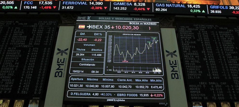El Ibex 35 defiende los 10.000 puntos de la corriente bajista procedente de Asia