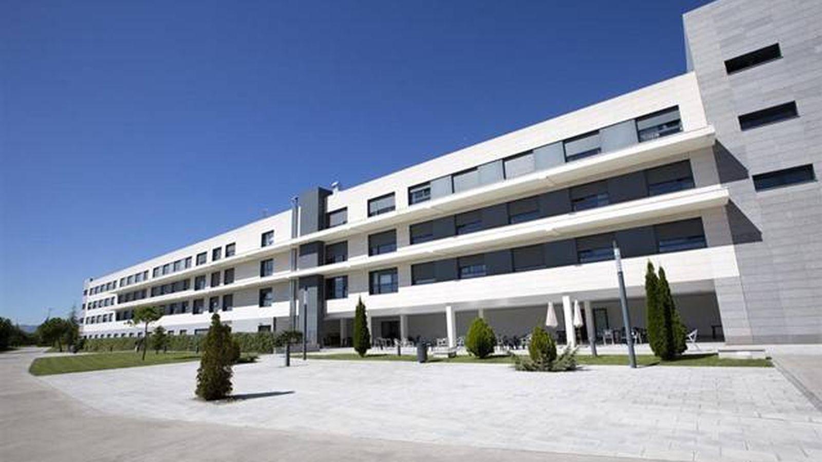 Foto: Edificio Hekania, propiedad de Healthcare Activos