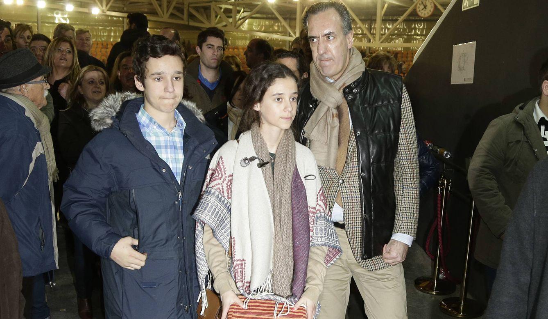 Foto: Jaime de Marichalar con su hijos en un evento taurino (Gtres)