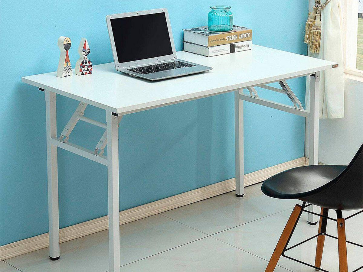 Foto: Los 10 mejores escritorios plegables para trabajar en casa (Amazon)