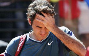 Federer estrena su paternidad con un amargo debut en Roma