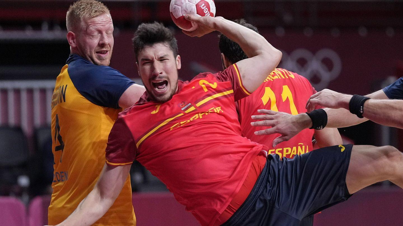 Alex Dujshebaev es el referente de la actual Selección española. (EFE)