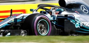 Post de McLaren arranca 2018 en el 'top 10' y Hamilton marca el ritmo de los Libres