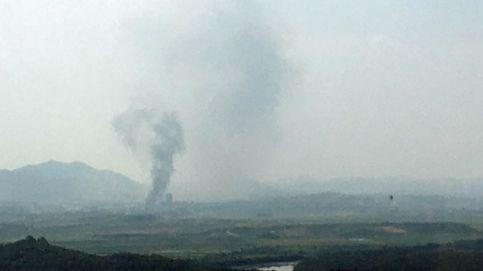 Kim Jong-un destruye la oficina de enlace intercoreana y amenaza con una remilitarización