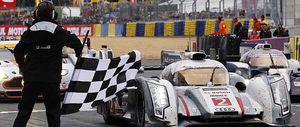 Audi domina el podio de las 24 horas de Le Mans con Marc Gené tercero después de remontar