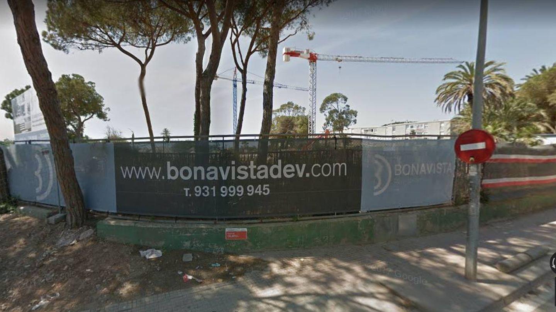 El terreno de Gavà, cuando se iniciaron las obras de la urbanización.