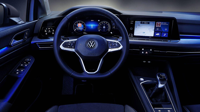 Puesto de conducción totalmente digitalizado.