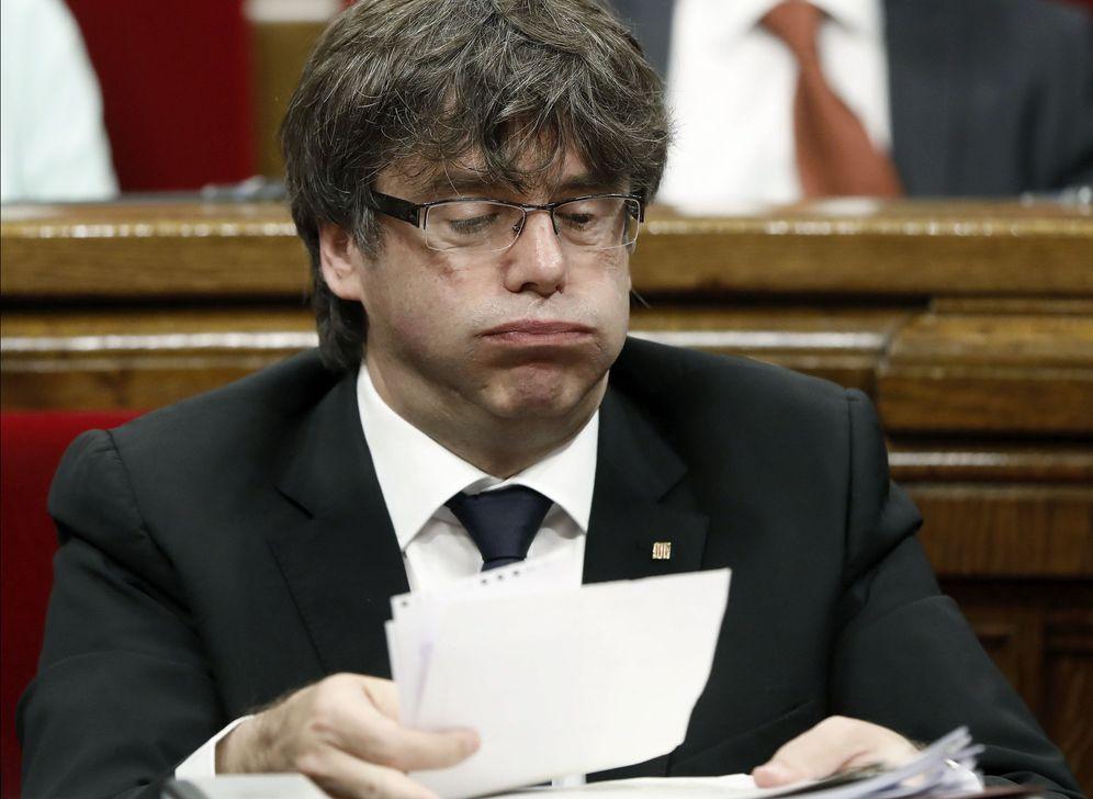 Foto: Imagen de archivo del presidente de la Generalitat, Carles Puigdemont, que irá a la Cámara a explicar la convocatoria de referéndum. (EFE)