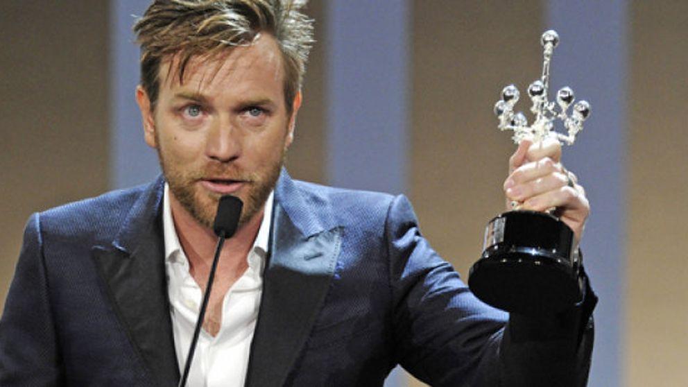Ewan McGregor, emocionado al recibir el Premio Donostia