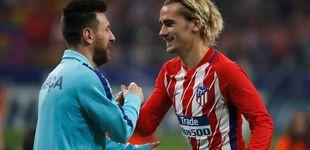 Post de El manotazo en la mesa del Atlético a los vaciles de Griezmann y el Barcelona