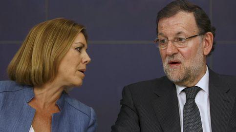 Rajoy se escuda en Cospedal y Maíllo para aprobar la asignatura de las listas