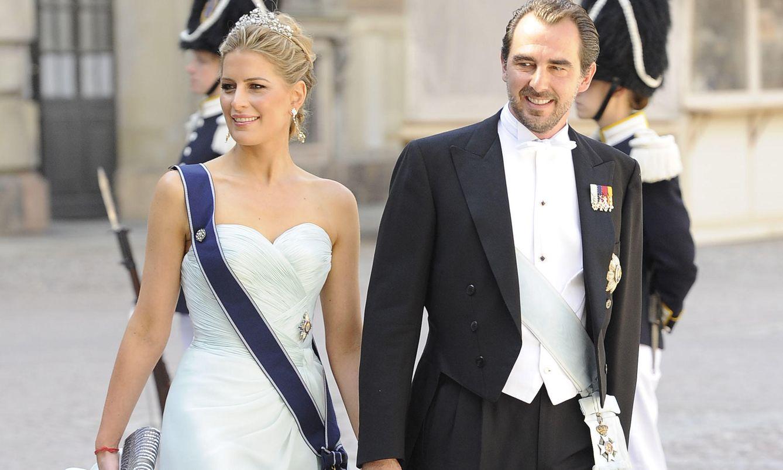 Los príncipes en la boda de Magdalena de Suecia (Gtres)