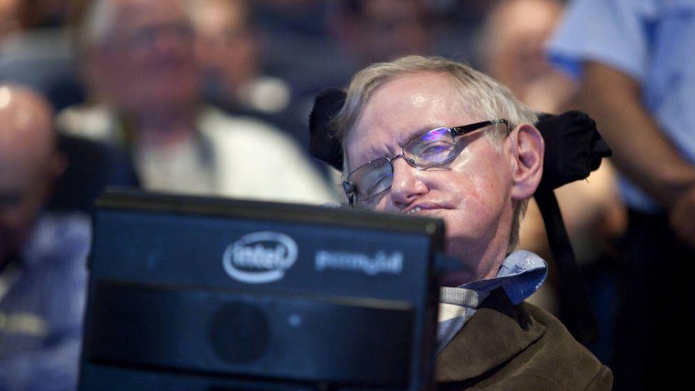 Foto: Stephen Hawking, en el festival Starmus en 2016. (EFE)