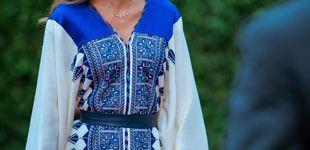 Post de Fiesta en Jordania: Rania protagoniza el mejor look del confinamiento