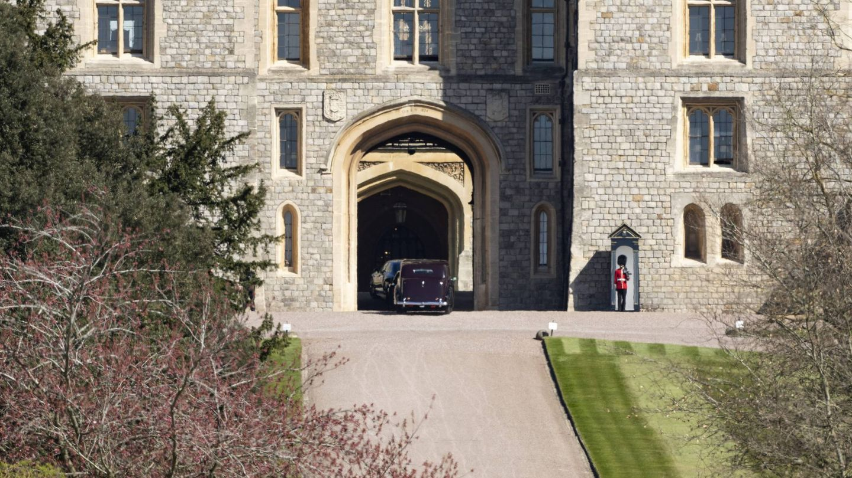 Llegada de asistentes al castillo de Windsor. (Cordon Press)