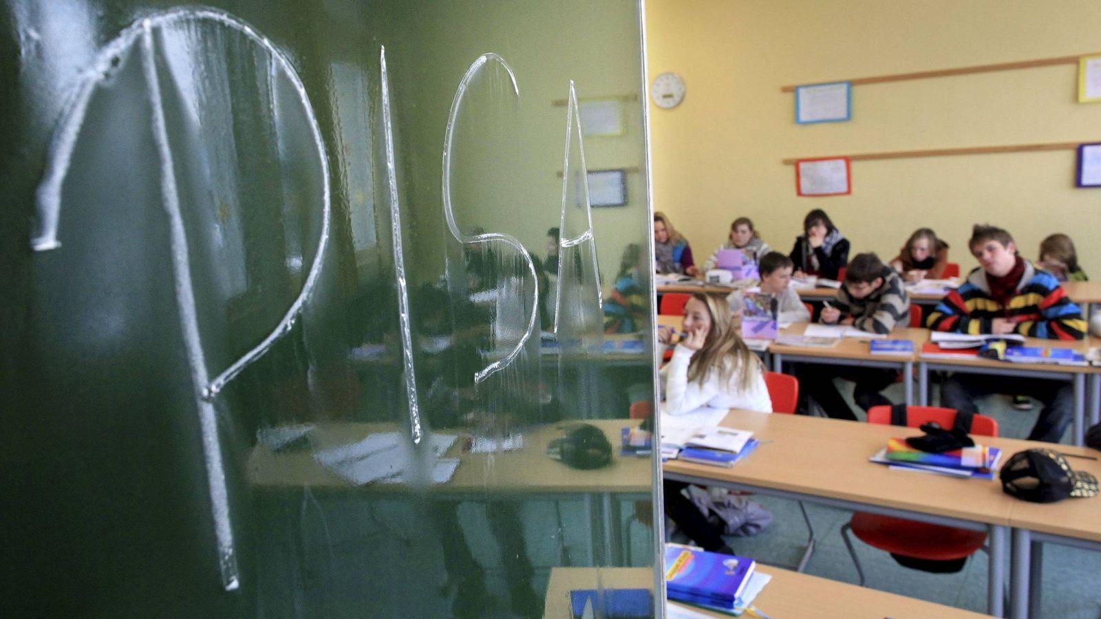 Foto: Alumnos en una clase. (EFE)