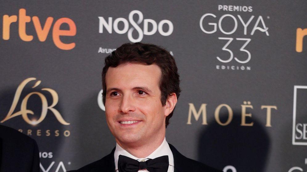 Foto: Pablo Casado en los Goya 2019. (EFE)