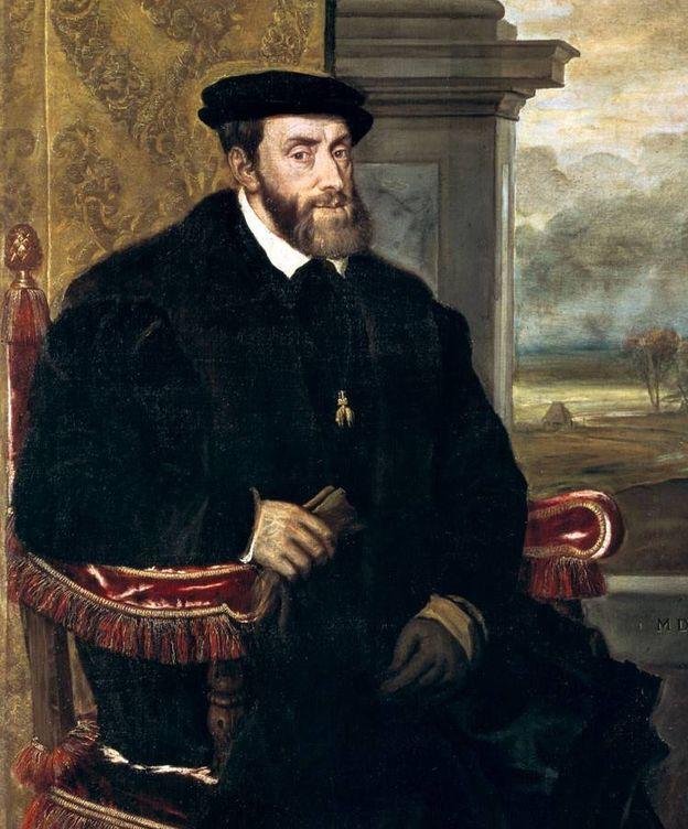 Foto: Carlos I de España...
