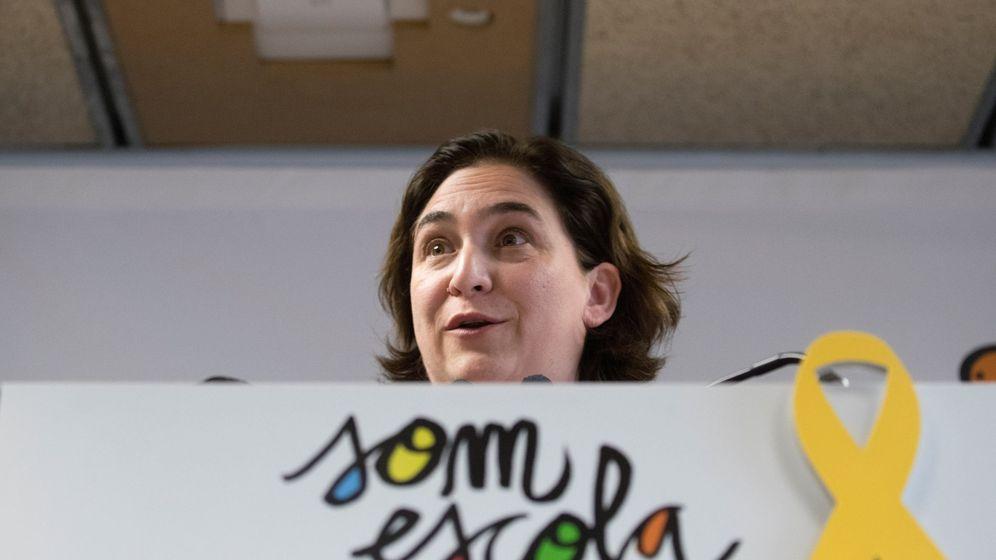 Foto: La alcaldesa de Barcelona, Ada Colau, en un acto público. (EFE)