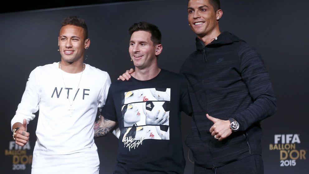 Cristiano: Mi pierna izquierda no está mal, pero la de Messi es un poco mejor