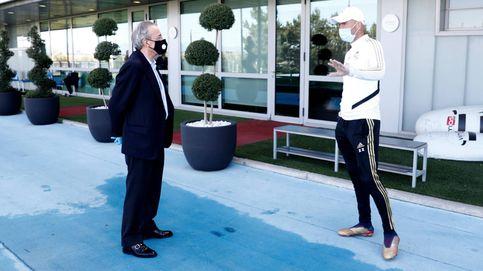 La 'inspección' de Florentino y el voto de confianza a Zidane en el Real Madrid