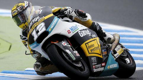 Thomas Luthi sorprende a todos sus rivales en Moto2 en apenas tres vueltas