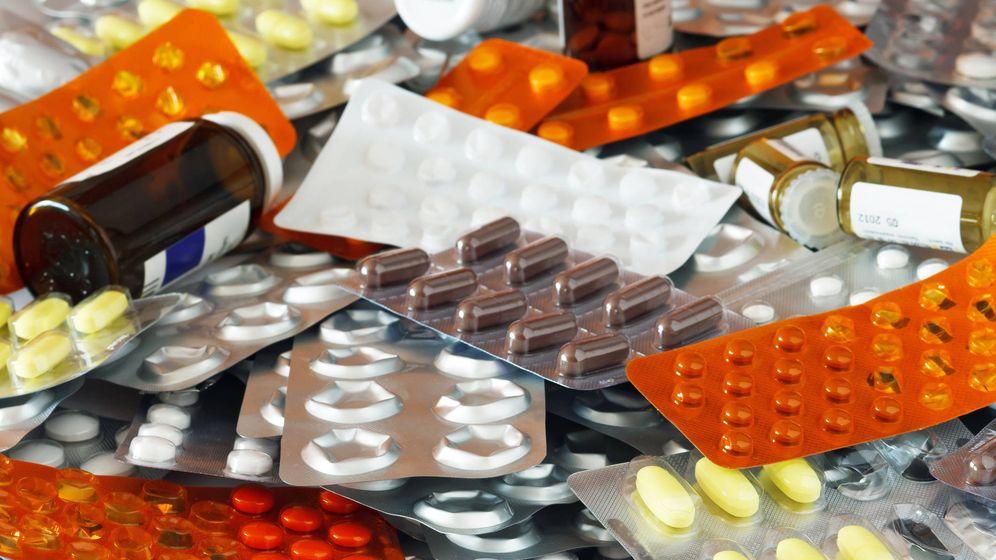 Foto: Imagen de archivo de medicamentos