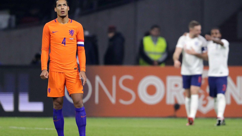 Virgil Van Dijk, en un amistoso de la selección holandesa   EFE