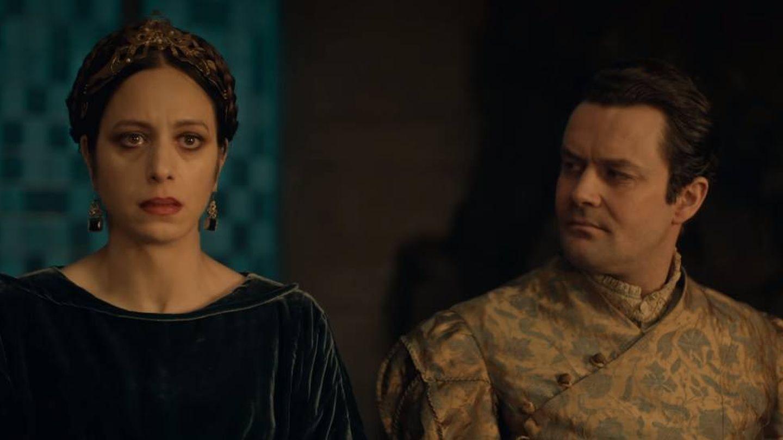 Björn Hlynur Haraldsson es Eist (derecha) en 'The Witcher'. (Netflix)
