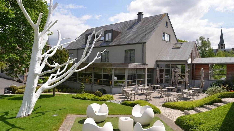Imagen del hotel Le Cote Vert donde se han reunido Torra y Puigdemont.