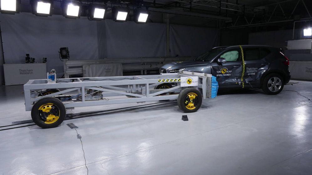Foto: Las pruebas de choque de Euro NCAP, cada vez más estrictas, son una forma de garantizar las seguridad.