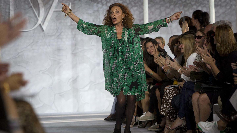 La diseñadora Diane von Fürstenberg. (Reuters)