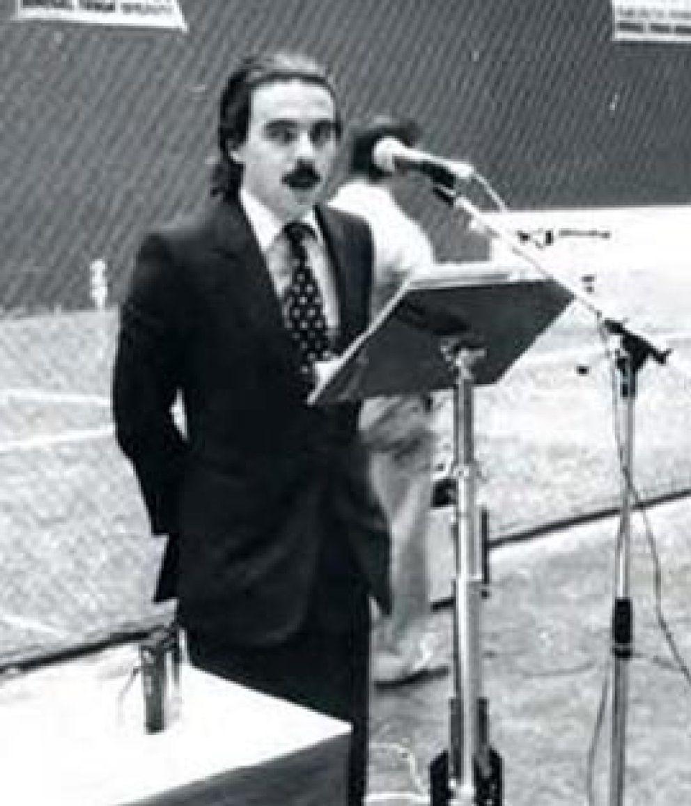 Foto: Aznar eligió a Rajoy como sucesor después de que Rato rechazase dos veces el puesto
